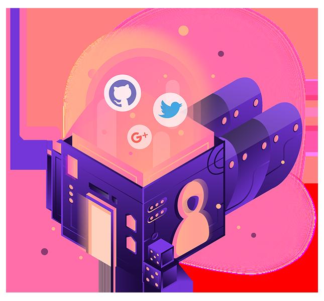 Illustration image of Vue.js + Firebase Authentication